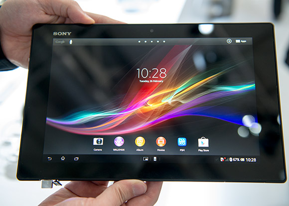 Sony Xperia Tablet Z first look