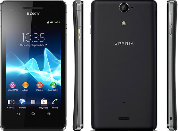 Sony announces water resistant Xperia V 4G smartphone