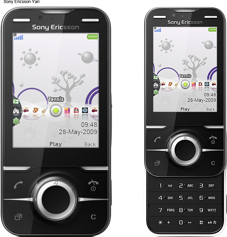 Sony Ericsson Introduces New Models of Mobile