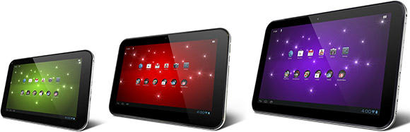 Toshiba announces three new Excite tablets