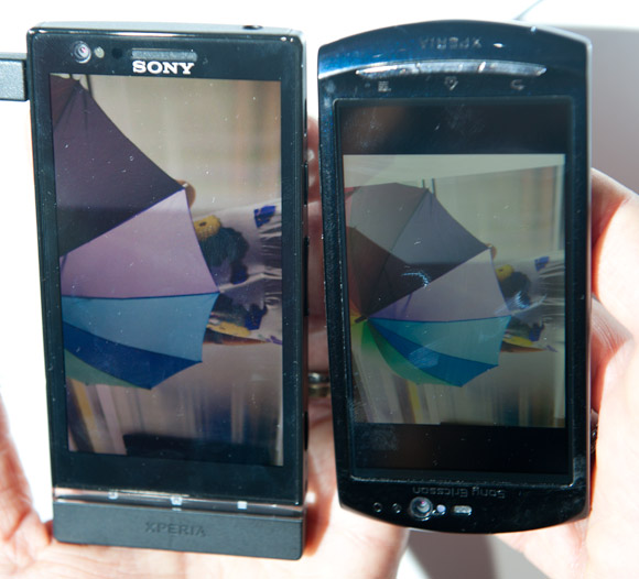 Xperia P WhiteMagic