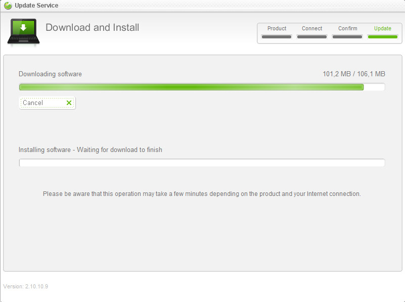 Downloading Android 2.1