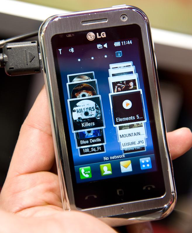 LG Arena LG-KM900 first impression