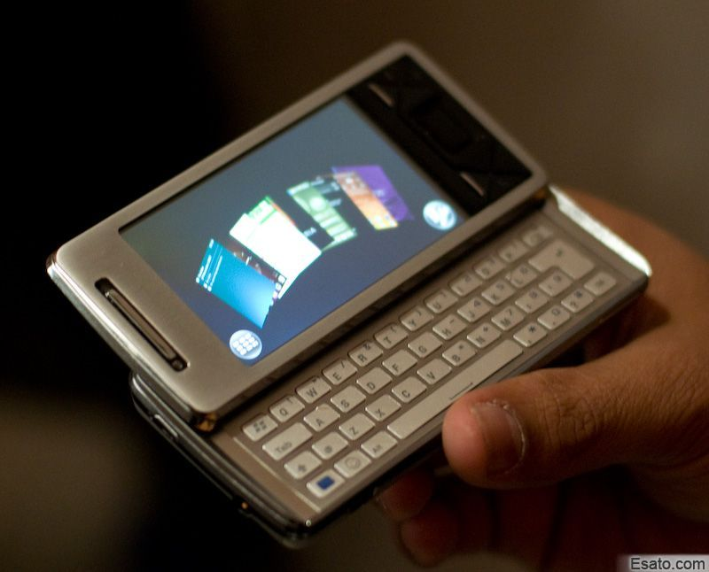 Sony Ericsson introduces the X1 XPERIA running Windows Mobile ...