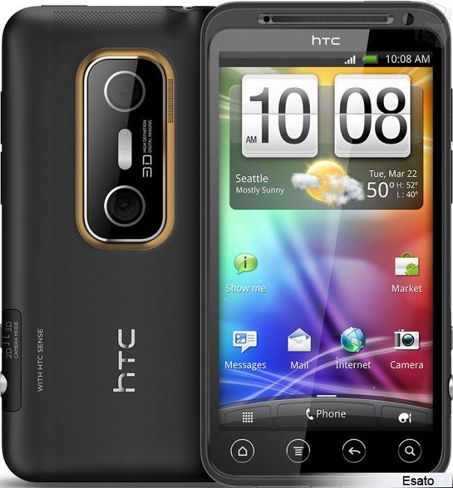 Thay màn hình, thay mặt kính HTC Evo 3D