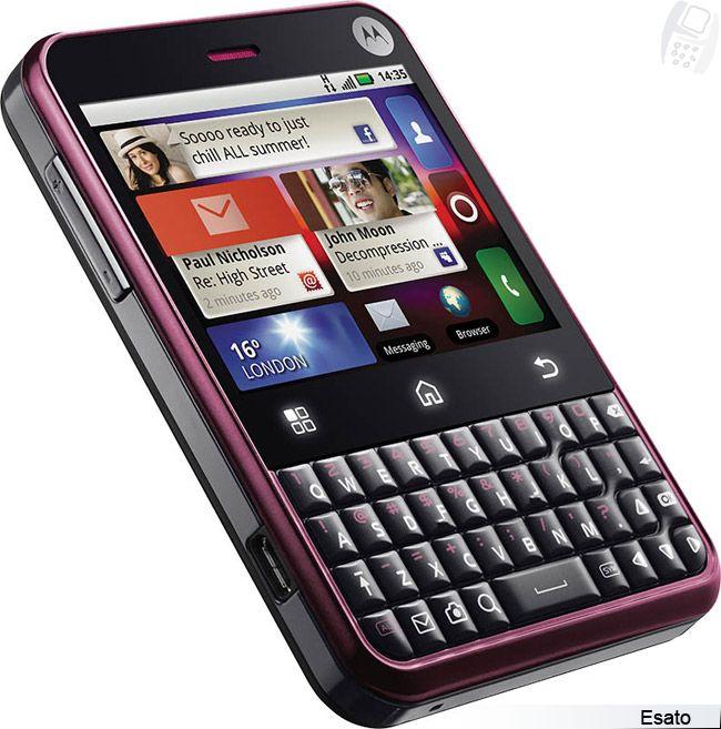Motorola Charm Motoblur Picture Gallery