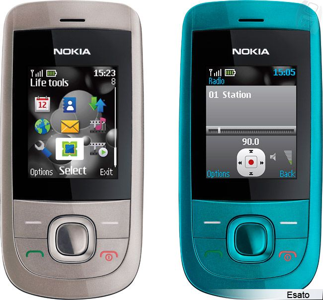Nokia 2220 Slide picture gallery