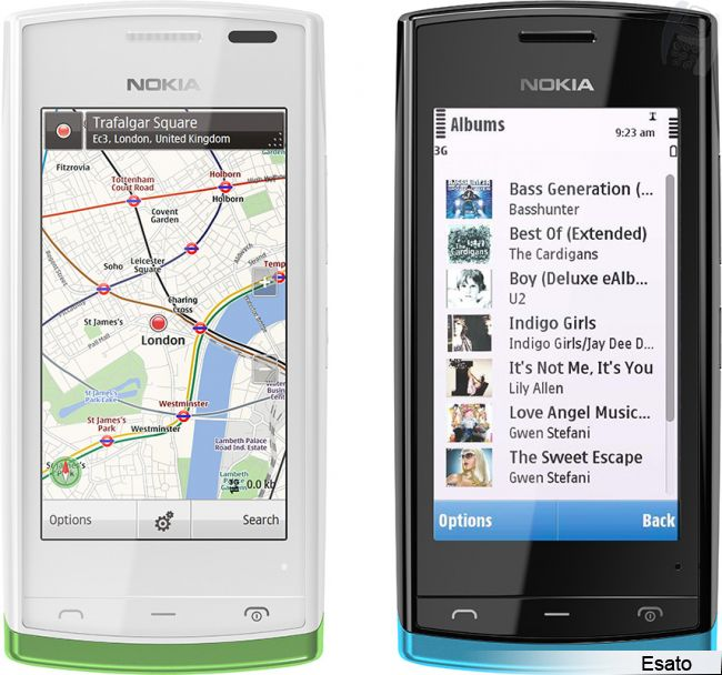 Nokia 500 Picture Gallery