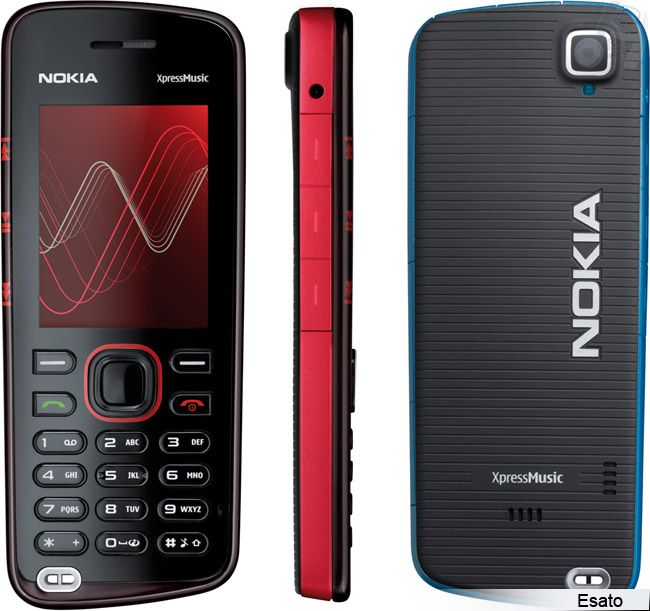 Nokia 5220 XpressMusic picture gallery
