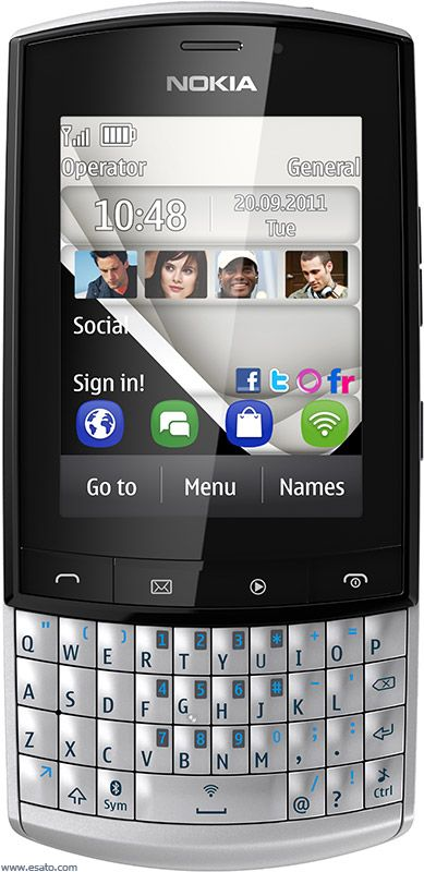 Nokia Asha 303 picture gallery