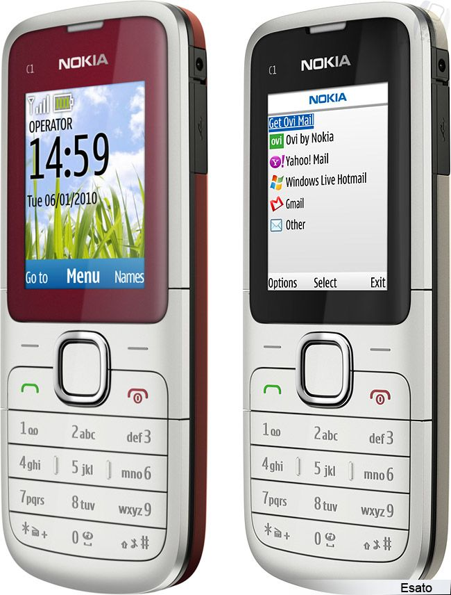 Nokia C1-01 picture gallery