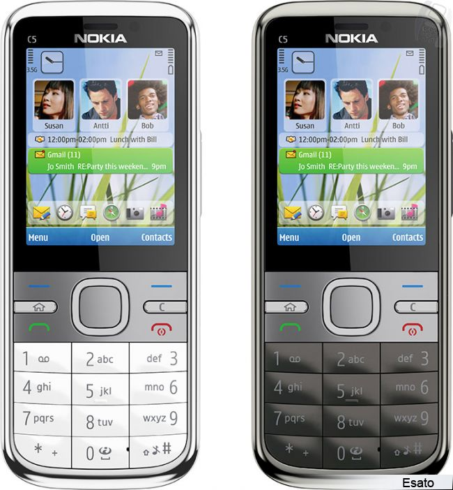 Nokia C5-00 5MP picture gallery