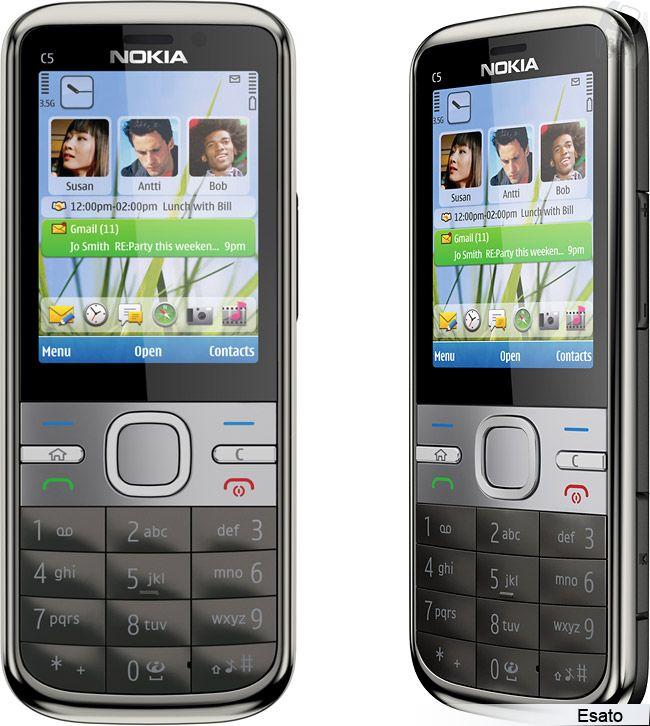 Nokia C5 Picture Gallery