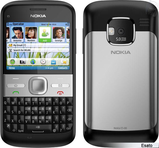 Nokia E5 picture gallery