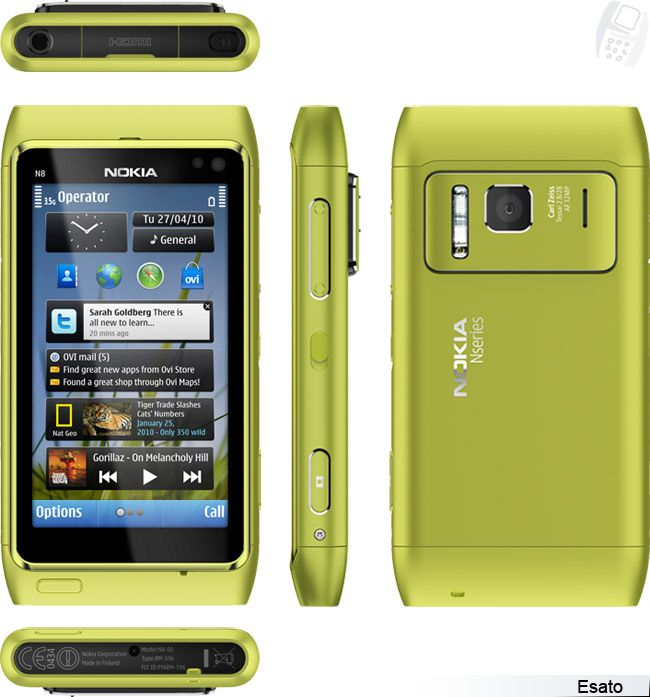 Nokia N8 picture gallery