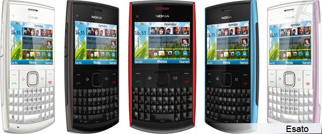 Nokia X2-01 picture gallery