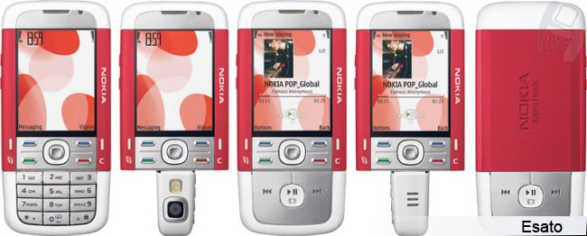 Nokia 5700 XpressMusic picture gallery