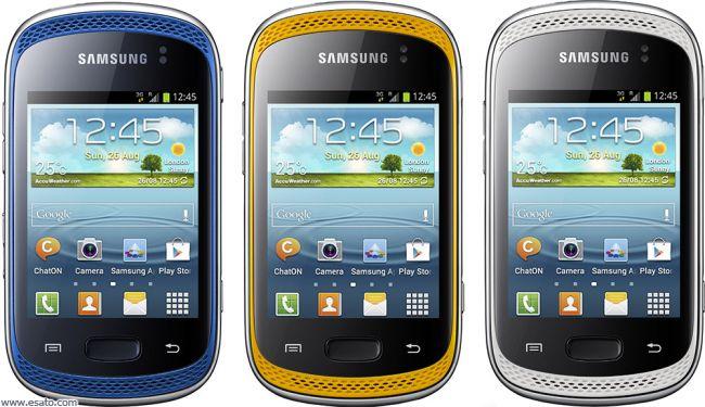 Back to Samsung Galaxy Music technical data