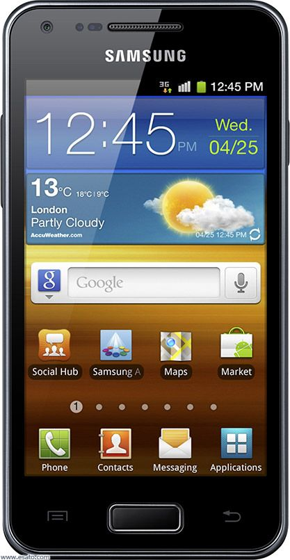 Samsung Galaxy S Advance picture gallery