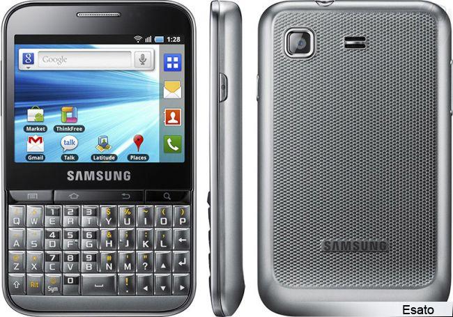 Samsung Galaxy Y Pro picture gallery