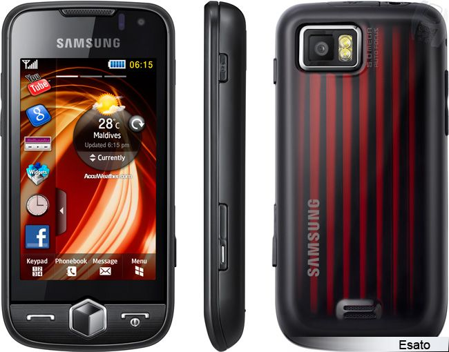 Samsung Jet S8000 Picture Gallery