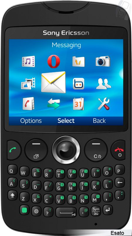 Sony Ericsson Txt picture gallery