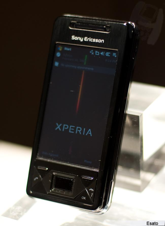 Sony Ericsson Xperia X1 picture gallery