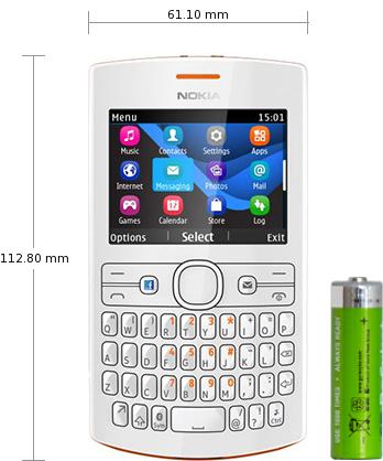 Mobile phones > Nokia > Asha 205 Dual SIM