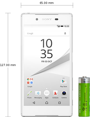 Sony Xperia Z5 Compact specifications and reviews