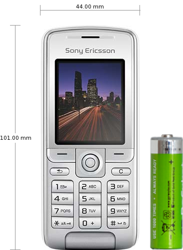 And Specifications K310 Reviews Ericsson Sony