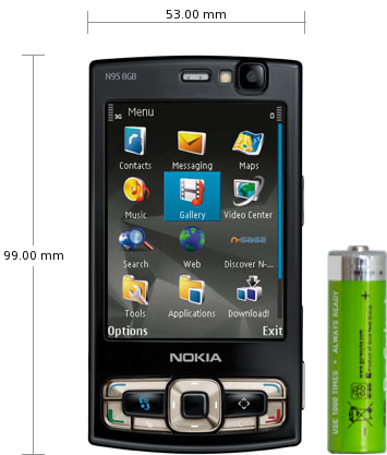 Reviews Nokia 8gb Specifications N95 And
