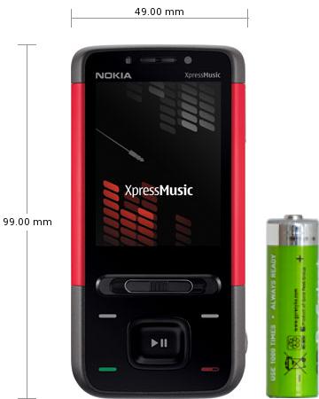 Sony Ericsson Hazel J20 Design Model Nokia 5610 XpressMusic