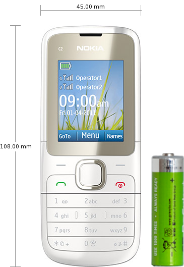 nokia c2 00 specifications and reviews. Black Bedroom Furniture Sets. Home Design Ideas