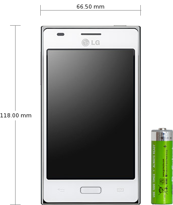 LG Optimus L5 specifications and reviews