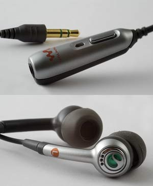 W550 Walkman headset