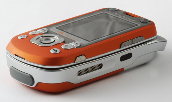Sony Ericsson front overview