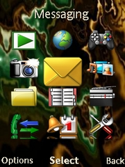 Dragon W715  theme