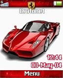 Red Ferrari R306  theme