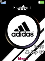 Adidas theme for Sony Ericsson W508