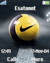 Nike Ball W700  theme