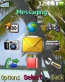 Palms theme for Sony Ericsson R306