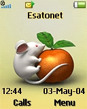 Mouse and Cat K320 / K320i theme