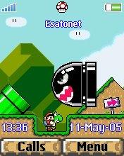 Mario Z550  theme