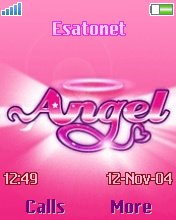 Angel pink W700 theme