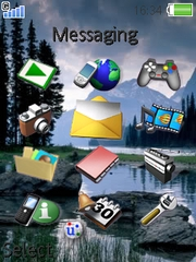 Nature theme for Sony Ericsson K800