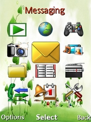 Vine hamlet theme for Sony Ericsson W902