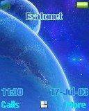 Blue Universe t630 theme