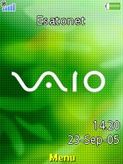 Vaio theme for Sony Ericsson K660