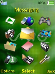Vaio theme for Sony Ericsson Z750