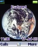 Earth t630 theme